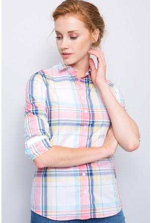 U.S. Polo Assn. Kadın Bruera Gömlek Pembe