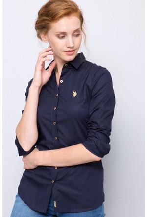 U.S. Polo Assn. Kadın Crisy17K Gömlek Lacivert