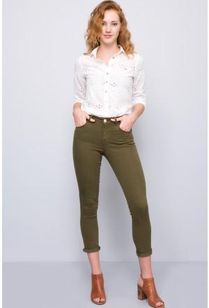 U.S. Polo Assn. Kadın Liz7S Pantolon Haki