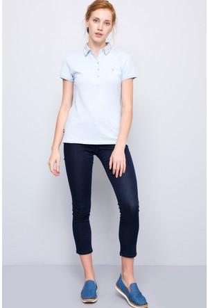 U.S. Polo Assn. Kadın Malise7Y-Rinse Kot Pantolon Lacivert