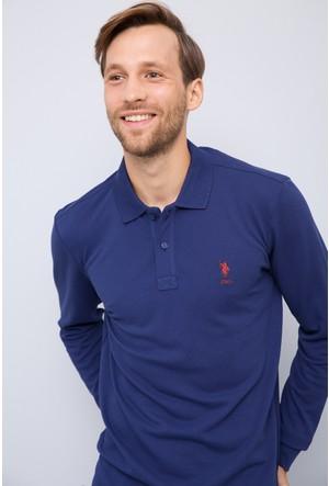 U.S. Polo Assn. Erkek Tp01Sk7 Sweatshirt Lacivert