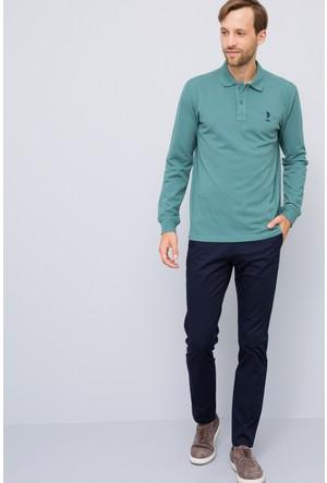 U.S. Polo Assn. Erkek Tp01Sk7 Sweatshirt Yeşil