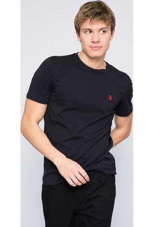 U.S. Polo Assn. Erkek Gts01Iy7 T-Shirt Siyah