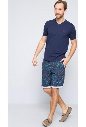 U.S. Polo Assn. Erkek Gts02İy7 T-Shirt Lacivert