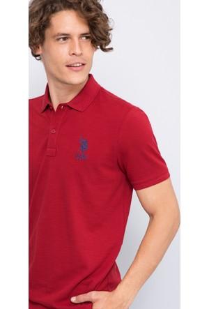 U.S. Polo Assn. Erkek Nesto T-Shirt Kırmızı