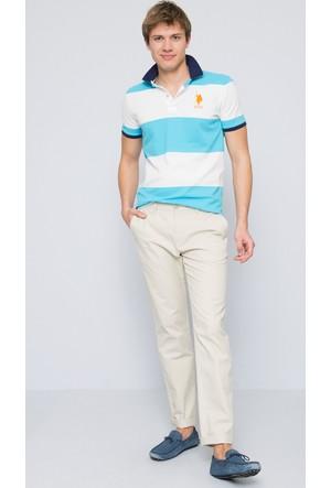 U.S. Polo Assn. Erkek Tito T-Shirt Turkuaz