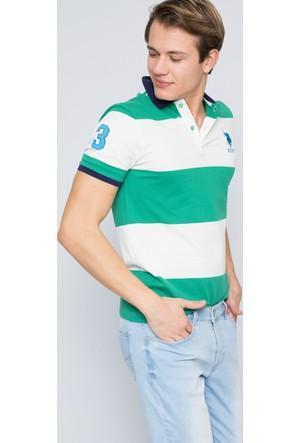 U.S. Polo Assn. Erkek Tito T-Shirt Yeşil