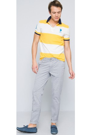 U.S. Polo Assn. Erkek Tito T-Shirt Sarı