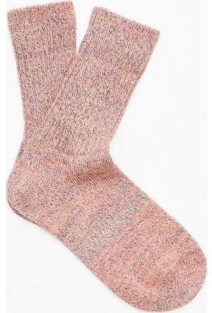 Mavi Pembe Çorap
