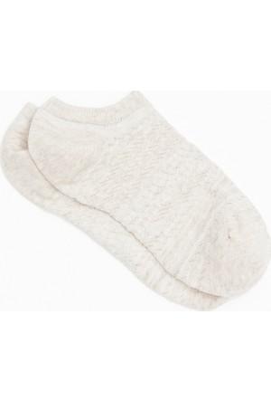 Mavi Bej Çorap