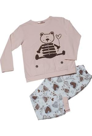 Hays Kids Kız Çocuk 2'li Pijama Takımı