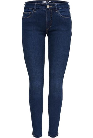 Only Bayan Kot Pantolon 15138621 Dark Blue Denim