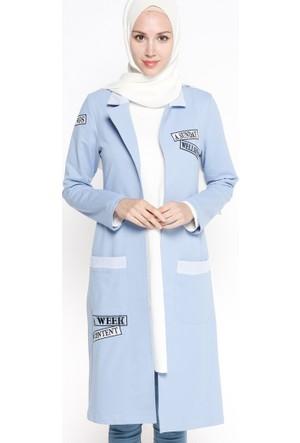 Armalı Ceket - Bebe Mavisi - Bwest