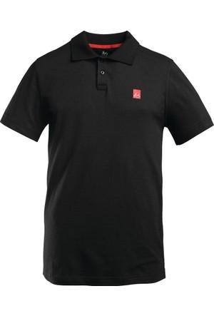 Es Pique Polo Black Polo Yaka Tişört