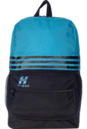 Hi-Bag Sırt Çantası HCSRT40 Mavi