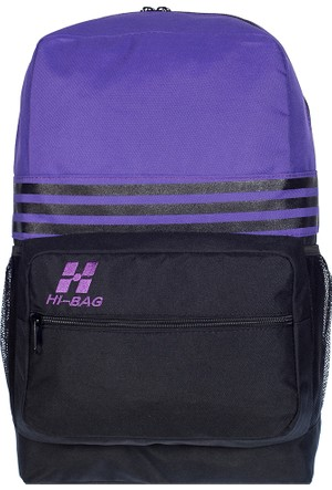 Hi-Bag Sırt Çantası HCSRT40 Mor