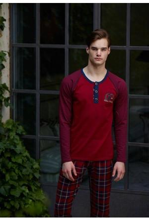 Feyza 3126 Sevgili Kombini Erkek Pijama Takımı