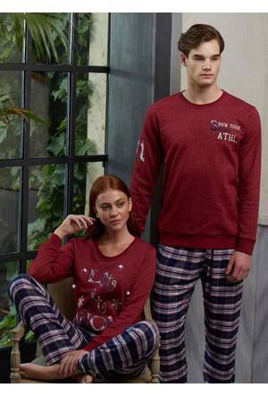 Feyza 3140 Sevgili Kombini Erkek Pijama Takımı