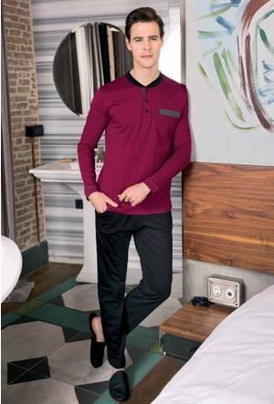 Yeni İnci EPJ461 Erkek Çeyizlik Pijama Çamaşır 4'lü Set