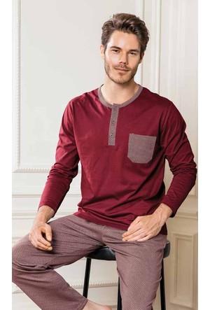 Yeni İnci EPJ612 Süprem Erkek Uzun Kollu Pijama Takımı