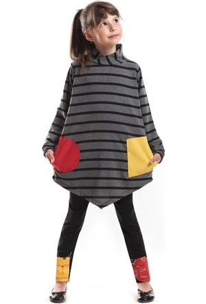 Mushi Geometrik Tunik Takım