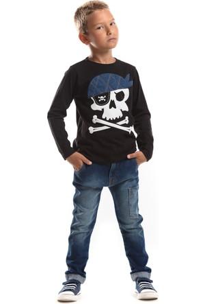 Mushi Korsan Jean Pantolon Takım