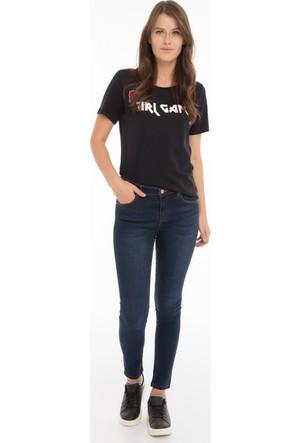 Collezione Kadın Pantolon Volentos Lacivert