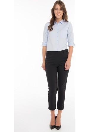 Collezione Kadın Pantolon Sarıms Siyah