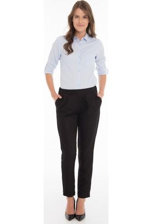 Collezione Kadın Pantolon Zomer Siyah