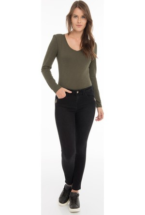 Collezione Kadın Pantolon Anastasıa Siyah