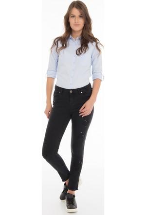 Collezione Kadın Pantolon Lala Siyah