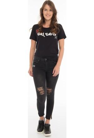 Collezione Kadın Pantolon Bilisse Siyah