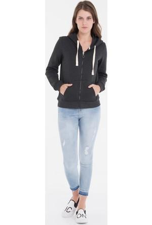 Collezione Kadın Sweatshirt Ferrani Antrasit