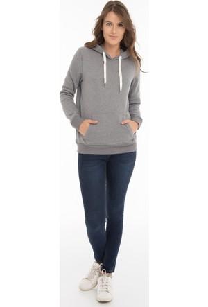 Collezione Kadın Sweatshirt Kani Gri Melanj