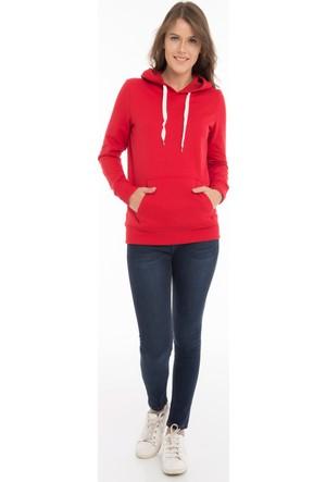Collezione Kadın Sweatshirt Kani Kırmızı