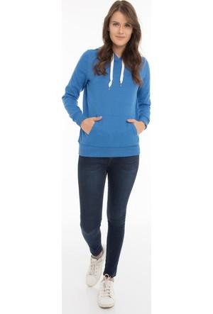 Collezione Kadın Sweatshirt Kani Mavi
