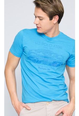 U.S. Polo Assn. Erkek Andreo T-Shirt Mavi