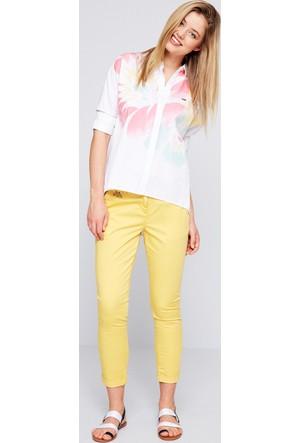 U.S. Polo Assn. Wilma7Y-ing Pantolon Sarı