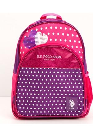 U.S. Polo Assn. Kız Çocuk K7Plçan7284 Çanta Pembe