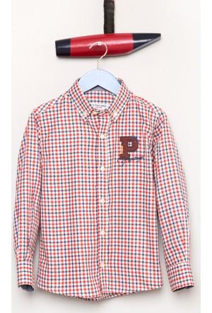 U.S. Polo Assn. Erkek Çocuk Cerseskids Gömlek Kırmızı