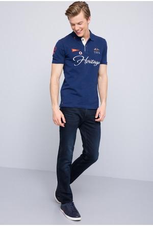 U.S. Polo Assn. Erkek Novak T-Shirt Lacivert