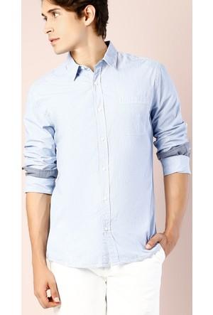 Colin's Mavi Erkek Uzun Kollu Gömlek