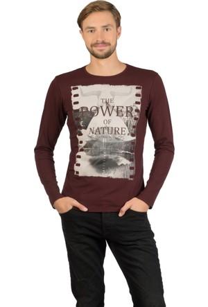 Colin's Mor Erkek Uzun Kollu T-Shirt