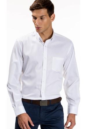 Lacoste Erkek Gömlek Beyaz CH9623.800