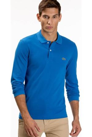 Lacoste Erkek Polo Yaka Sweatshirt Mavi L1313.HRE