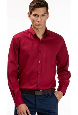 Lacoste Erkek Gömlek Kırmızı CH9623.Q7A