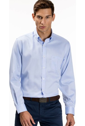 Lacoste Erkek Gömlek Mavi CH9623.Q7H