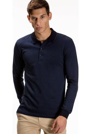 Lacoste Erkek Polo Yaka Sweatshirt Lacivert PH1808.08L