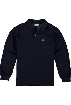Lacoste Erkek Çocuk Polo Yaka Sweatshirt Lacivert PJ8915.166