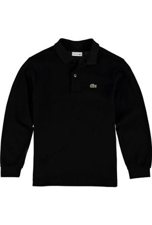 Lacoste Erkek Çocuk Polo Yaka Sweatshirt Siyah PJ8915.031